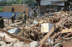 Korban Tewas dalam Bencana Longsor Jepang Capai 199 Orang