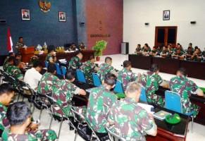 Korem 043/Gatam Ikuti Sosialisasi Program Reformasi Birokrasi