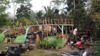 Korsleting Listrik, Rumah Warga Panaragan Ludes Terbakar