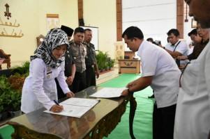 Kosultasi Desa, Bupati Lamtim Tandatangani Perjanjian Kerja Sama dengan FISIP Unila
