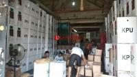 KPU Apel Serentak, Distribusi Logistik Pemilu