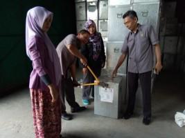 KPU Bandar Lampung Benahi Logistik Kotak Suara