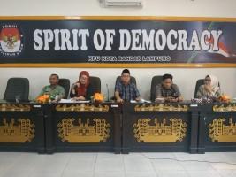 KPU Bandar Lampung Rumuskan Titik Pemasangan APK Pemilu