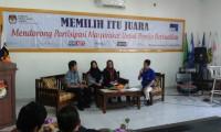 KPU dan RRI Gelar Dialog Interaktif Memilih itu Juara