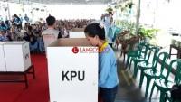 KPU Gelar Simulasi Pencoblosan di Lapas Way Huwi