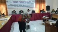 KPU Kabupaten LamtimLakukan Pencocokan C1