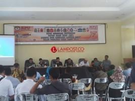 KPU Lambar Gelar Rapat Koordinasi Penyusunan DCT