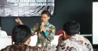 KPU Lampung Evaluasi Pelaksanaan Sosialisasi Pemilu 2019