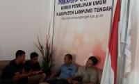 KPU Lamteng Tunggu Juknis Pengumuman Caleg Terlibat Korupsi