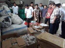 KPU Monitoring Kesiapan Logistik Pemilu di Lambar