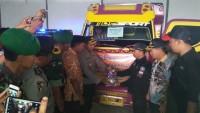 KPU Distribusikan Logistik Pilkada, Polres Pesawaran Lakukan Pengawalan