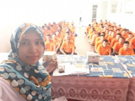 KPU Pesisir Barat Sosialisasi ke Rutan Krui