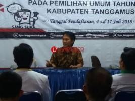 KPU Pleno Penetapan Bupati Terpilih Tanggamus, Besok