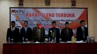 KPU Pringsewu Kelarkan Pleno Pilpres