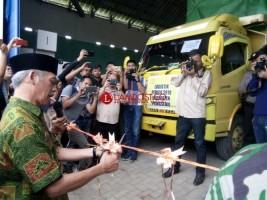 KPU Pringsewu Mulai Distribusikan Logistik Pemilu