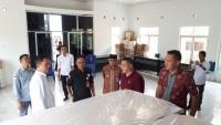KPU Provinsi Lampung Tinjau Gudang Logistik di Way Kanan