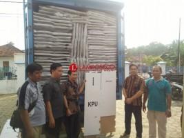 KPU RI Belum Setujui Lelang Kotak Suara di Lampung