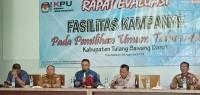 KPU Tubaba Evaluasi Proses Kampanye Pemilu 2019