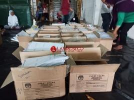 KPU Tubaba Kebut Penyortiran Surat Suara Pemilu 2019