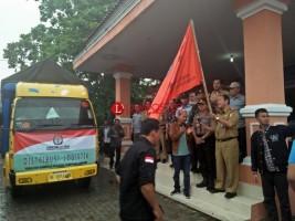 KPU Tulangbawang Mulai Distribusikan Logistik Pilgub