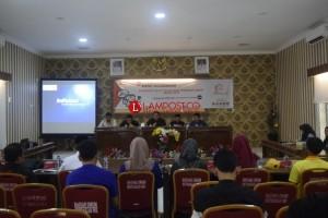 KPU Way Kanan Gelar Rakor Kampanye Umum Pemilu 2019