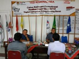 KPUD Tubaba Gelar Tes Wawancara 75 Calon Sukarelawan Demokrasi