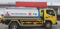 Krama Yudha Mitsubishi Group Serahkan 5 Unit Truk ke PMI