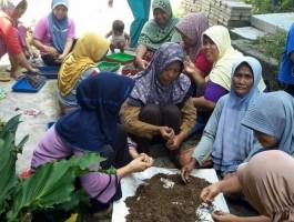 KRPL di Lamteng Embrio Kampung Swasembada Pangan