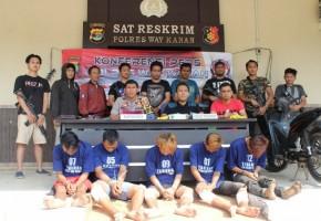Kurang Dari 24 Jam, Polisi Tangkap Pelaku Curanmor Bersenpi di Blambangan Umpu