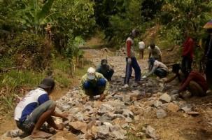 Kuripan Terus Bangun Infrastruktur Desa