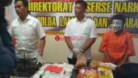 Kurir Asal Riau Sembunyikan Sabu 2 kg Dalam Bungkus Snack
