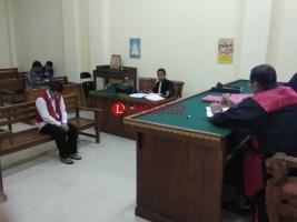 Kurir Sabu 6 Kg Dituntut 18 Tahun Penjara