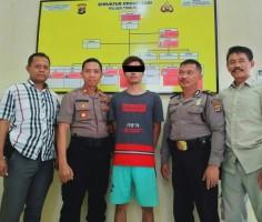 Kurir Sabu Dibekuk Polisi Sebelum Transaksi