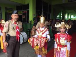 Kwarda Banten Kunjungi SMP Kartika II Bandar Lampung