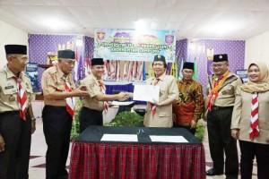 Kwarda Lampung dan UIN Raden Intan Teken MoU Pendidikan Kepramukaan