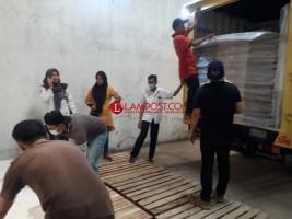 Lagi, 7.412 Bilik Suara Tiba di Gudang KPU Kota Bandar Lampung