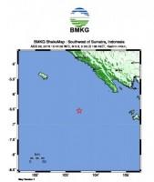 Lagi, Gempa Tektonik Guncang Lampung Barat