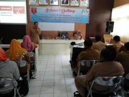 Lambar Sosialisasi Pengembangan Kabupaten Layak Anak