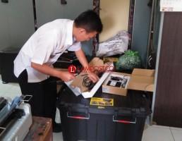 Lambar Terima Bantuan Mesin Layanan Administrasi Kependudukan Keliling