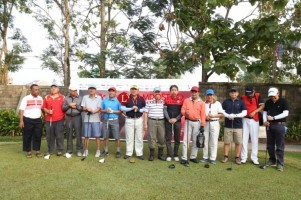 LAMPOST TV: 112 Peserta Meriahkan Open Tournament Golf Lampung Post