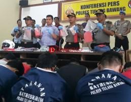 LAMPOST TV:28 Pelaku Kriminal Diamankan dalam Operasi Sikat Krakatau di Tuba