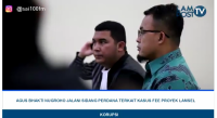 LAMPOST TV: ABN Jalani Sidang Perdana Fee Proyek Lamsel