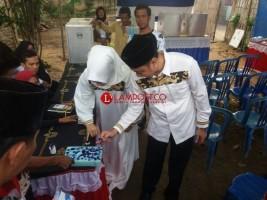 LAMPOST TV: Agung Nyoblos di TPS 109 Yakin Menang Pilkada