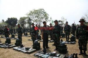 LAMPOST TV: Pasukan TNI AD Lampung Siap ke Perbatasan Papua