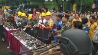 LAMPOST TV: Polda Amankan Ratusan Kilo Ganja Hingga Senpi Rakitan