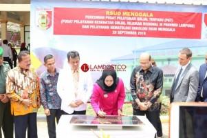 LAMPOST TV: RSUD Menggala Resmi Jadi Pusat Pelayanan Ginjal Terpadu