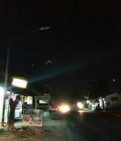 Lampu Jalan Banyak Rusak, Pengendara Diminta Hati-hati Melintasi Jalinbar Pesawaran