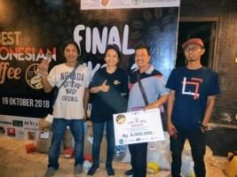 Lampung Barat Raih Juara Kontes Kopi Tingkat Nasional