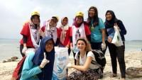 Lampung Coastal Cleanup Day CCAI Jaga Kelestarian Lingkungan