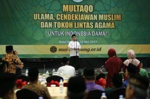 Lampung Gelar Multaqo Ulama Untuk Indonesia Damai